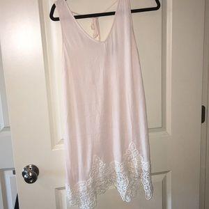 ASTR light pink sun dress